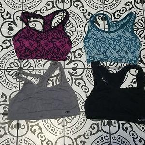 8 size S sports bras